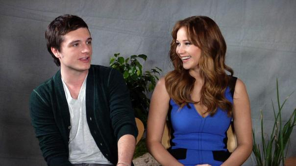 The hunger games interview with josh and jennifer dating. Dating for one night.
