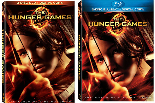 Hunger games dvd release date in Sydney