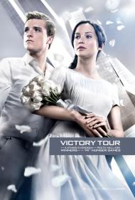 New Catching Fire Posters Featuring Katniss & Peeta for Victory Tour!
