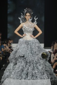 Indonesian Designer, Tex Saverio, is THE DESIGNER of Katniss' Wedding Gown in Catching Fire!