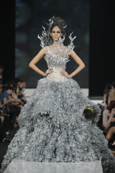 The Katniss Gown at Jakarta Fashion Week 2012