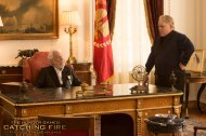 New Still of Plutarch Heavensbee & President Snow from CATCHING FIRE!