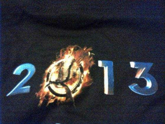 Arman Tjandra (Lionsgate's employee) Send us a picture of 'Catching Fire' T-shirt