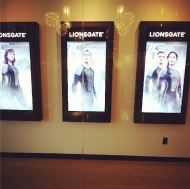 SPOTTED: Catching Fire Posters At Lionsgate Office!