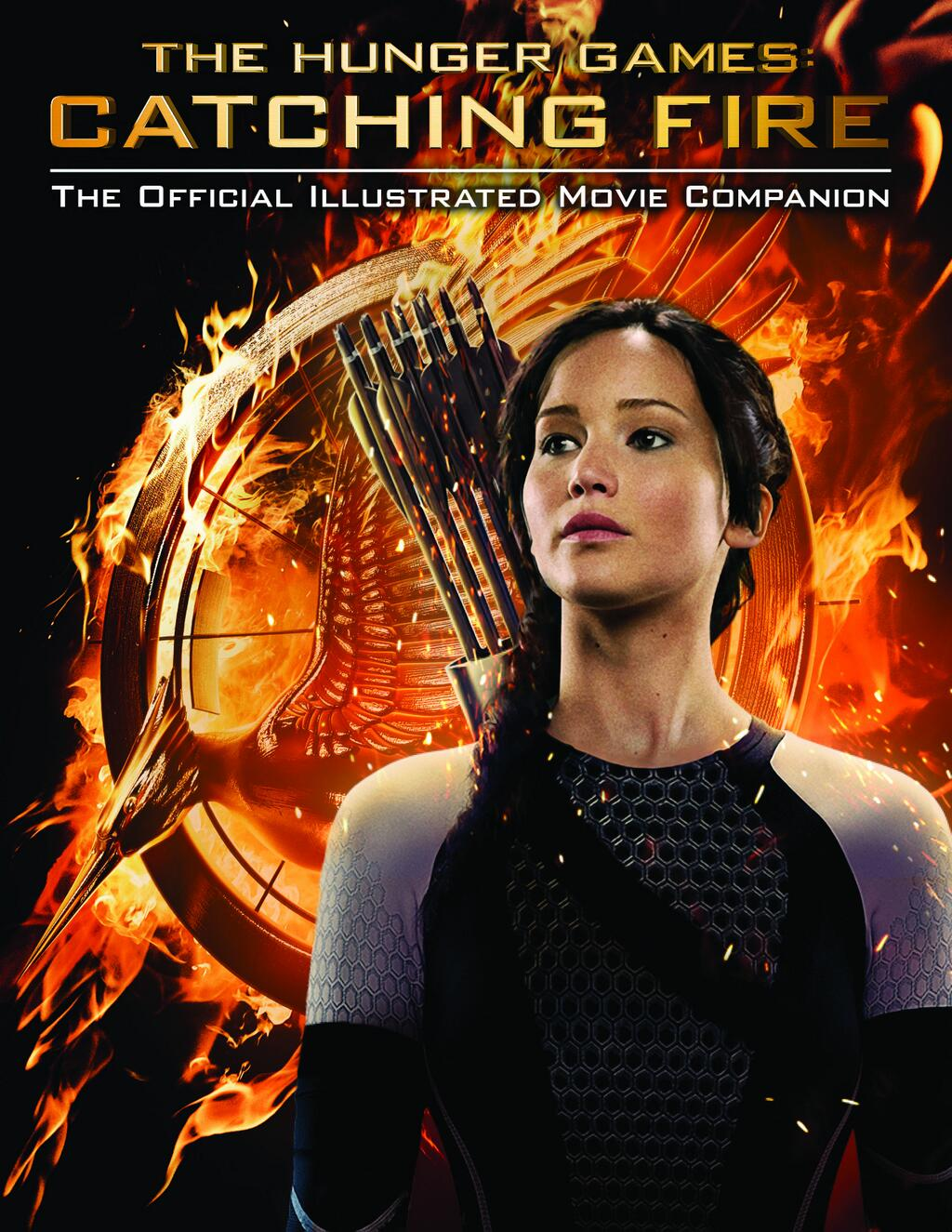 Book Cover Photography Games ~ The hunger games catching fire official illustrated movie
