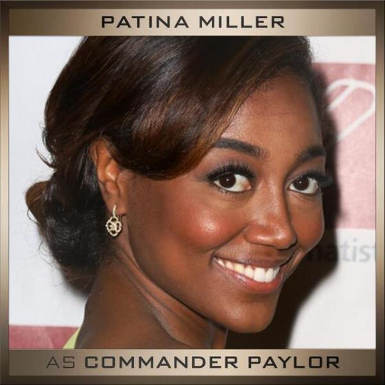 Patina Miller as Commander Paylor. Paylor was the leader among the rebels in District 8, and later becomes the president of Panem.