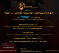 F.A.Q #NonbarIHG2 'THE HUNGER GAMES: CATCHING FIRE' The IMAX Experience