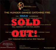 (SOLD OUT!) #NonbarIHG2 'THE HUNGER GAMES: CATCHING FIRE' The IMAX Experience!