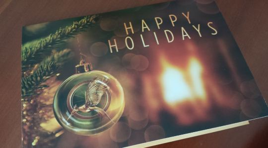 Holiday Card from Lionsgate (Thank you, Kak Arman!)