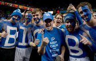 Josh Hutcherson Gets Three Fingers Salutes at Kentucky BasketballGame
