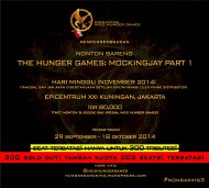 (SOLD OUT!!!) #NONBARIHG3 THE HUNGER GAMES: MOCKINGJAY PART 1!